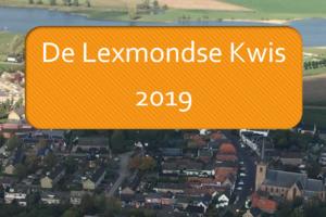 Lexmondse Kwis, editie 2019